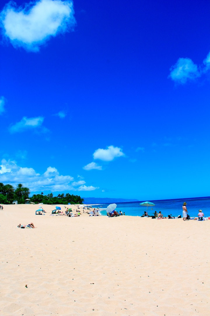 White Sandy Beaches of Hawaii